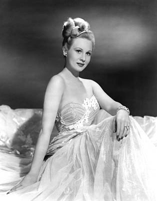 1948 Movies Photograph - A Song Is Born, Virginia Mayo, 1948 by Everett