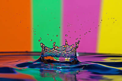 Photograph - A Splash Of Color by David Freuthal
