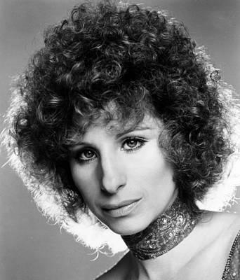 A Star Is Born, Barbra Streisand, 1976 Art Print by Everett