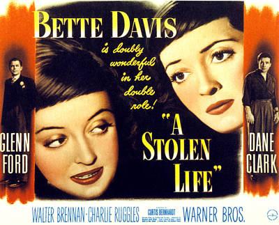 A Stolen Life, Glenn Ford, Bette Davis Art Print by Everett