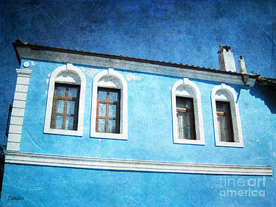 Photograph - A Story In Blue by Eena Bo