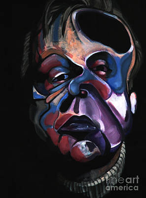 Wa Painting - A Study For A Portrait Of Francis Bacon I by Ryan Babcock
