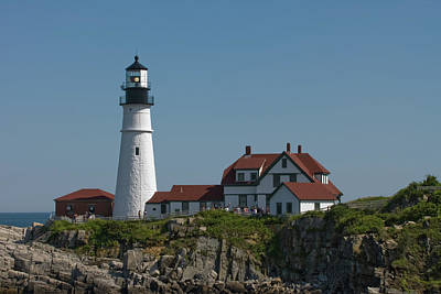 Photograph - A Summer Afternoon At Portland Head  by Paul Mangold