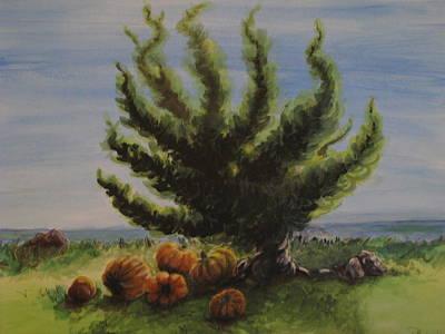 A Sunny Day At The Bay Of Pumpkins Art Print
