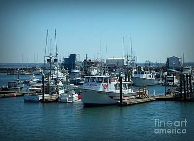 Photograph - A Sunny Nautical Day by Chalet Roome-Rigdon