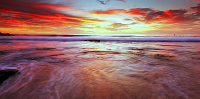 Maroubra Photograph - A Surfers' Moment by Mark Lucey