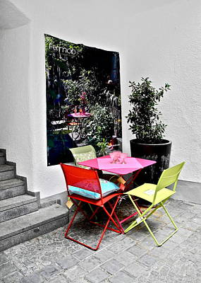 Photograph - A Sweet Little Corner In A Courtyard by Kirsten Giving