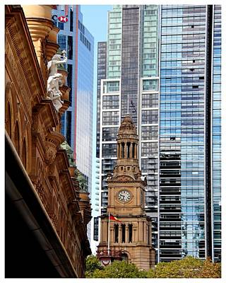 Photograph - A Sydney Contrast To Behold by Frank Wickham