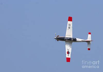 T-50 Photograph - A T-50 Golden Eagle Aircraft In Flight by Stocktrek Images