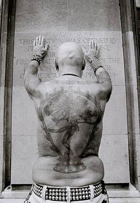 Masochism Photograph - Tattooed Man by Shaun Higson