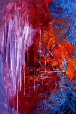 Sadness Painting - A Teacher's Sadness by J Vincent Scarpace