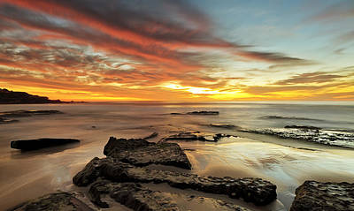 Maroubra Photograph - A Time To Think by Mark Lucey