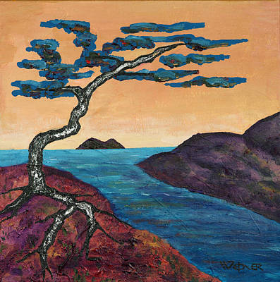 Painting - A Tree For Trudy One by Randall Weidner