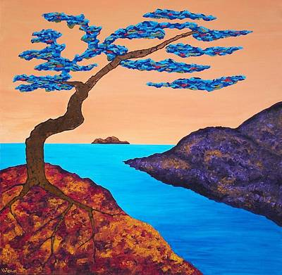 Painting - A Tree For Trudy Three by Randall Weidner