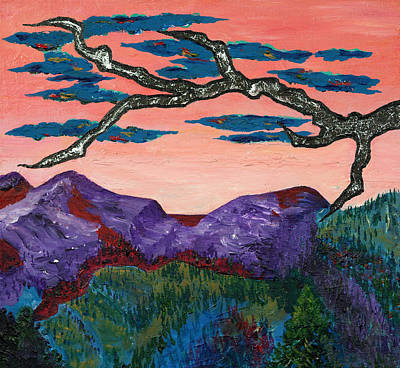 Painting - A Tree For Trudy Two by Randall Weidner