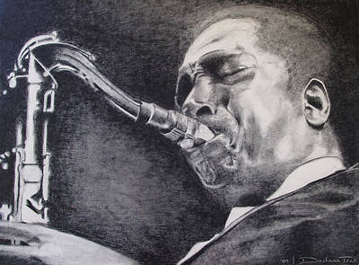 A Tribute To J. Coltrane Original by Dashaan V Tran