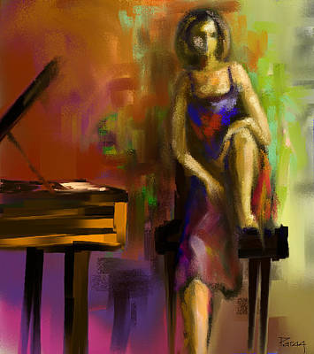 Digital Art - A Tune For You by Parag Pendharkar