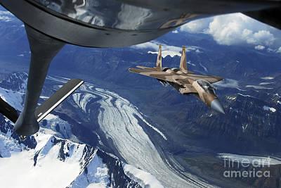 F-15c Eagle Photograph - A U.s. Air Force F-15c Eagle by Stocktrek Images