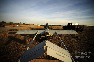 A U.s. Army Rq-7b Shadow Unmanned Print by Stocktrek Images