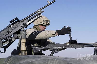 A U.s. Marine Corps Troop Loads Art Print