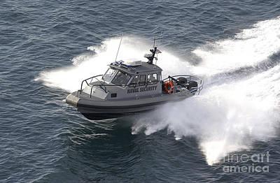 A U.s. Naval Security Sea-ark, 28-foot Art Print by Stocktrek Images