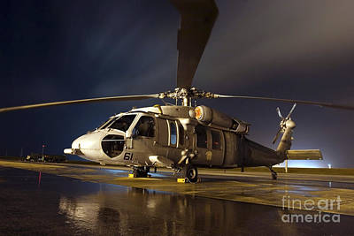 Photograph - A U.s. Navy Mh-60s Seahawk Helicopter by Stocktrek Images