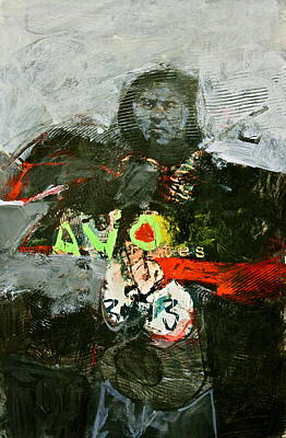 Painting - A V O Shaman  by Cliff Spohn