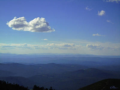 Photograph - A Vew From Top Of Cannon by Nancy Griswold