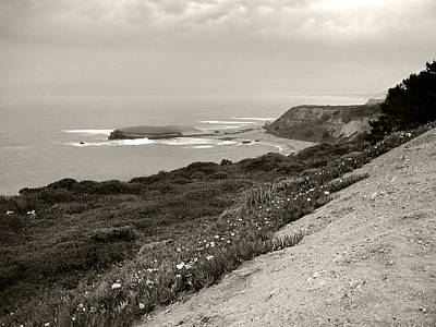 Photograph - A View Central California Coast by Kathleen Grace