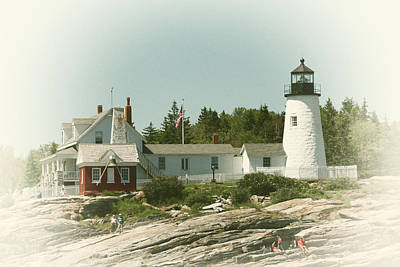 Coastal Maine Photograph - A View From The Water by Karol Livote