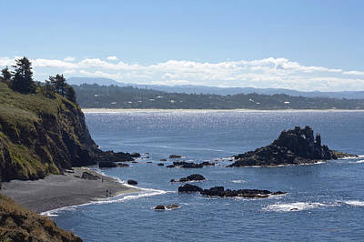 Photograph - A View Of Agate Beach by Chris Anderson