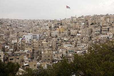 A View Of Amman, Jordan Art Print by Taylor S. Kennedy