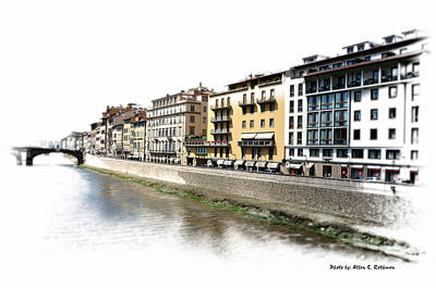 Photograph - A View Of Florence Italy by Allan Rothman