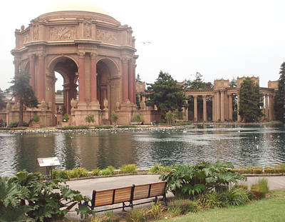 A View Of Palace Of Fine Arts Theatre San Francisco No One Art Print