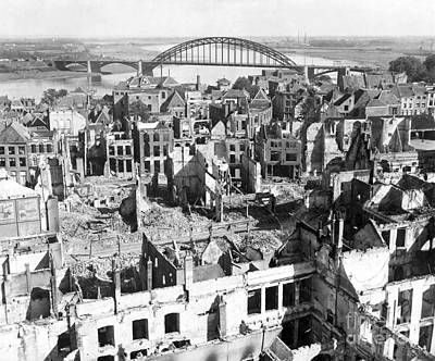 A View Of The City Of Nijmegen Art Print