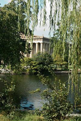 A View Of The Parthenon 6 Art Print by Douglas Barnett