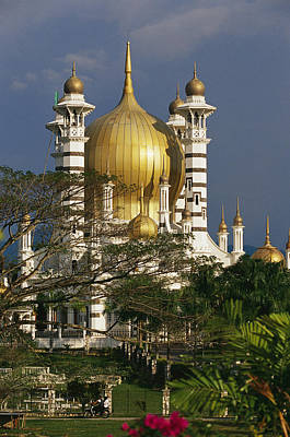 A View Of The Ubudiah Mosque Art Print by Steve Raymer