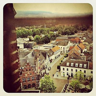 Dutch Photograph - A View Over The Centre Of #venray From by Wilbert Claessens
