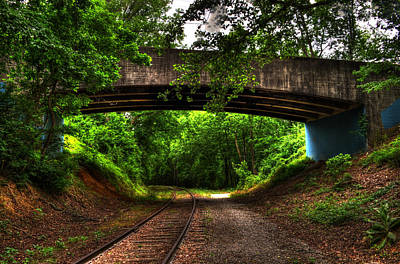 Photograph - A Walk Along The Tracks by Greg and Chrystal Mimbs