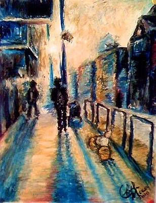 Pastel - A Walk At Dusk by Elizabeth Marks