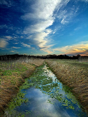 A Water's Way Print by Phil Koch