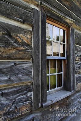 Photograph - A Window In The Fort by Alyce Taylor