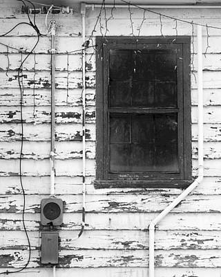 Fort Bayard Photograph - A Window Into Christmas Past by Bob Russman