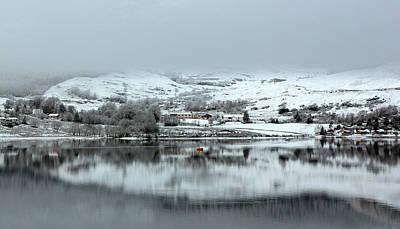 Art Print featuring the photograph A Winter's Scene by Lynn Bolt