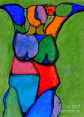 A Womanist Personality Print by Antione Leonard