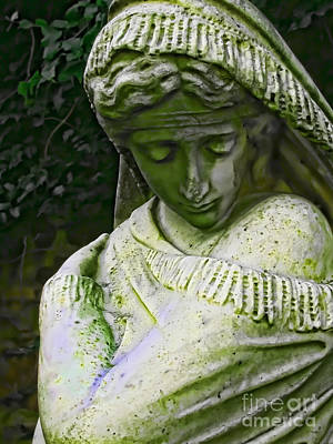 Photograph - A Woman's Sorrow by Colleen Kammerer