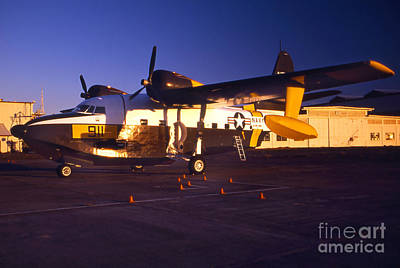 Photograph - A World War II Navy Seaplane by Michael Wood
