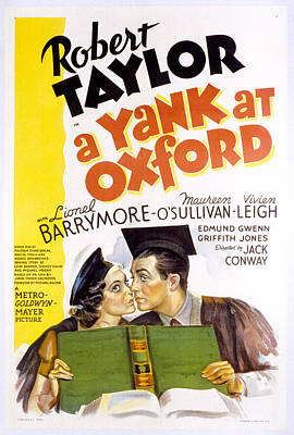 1938 Movies Photograph - A Yank At Oxford, Maureen Osullivan by Everett