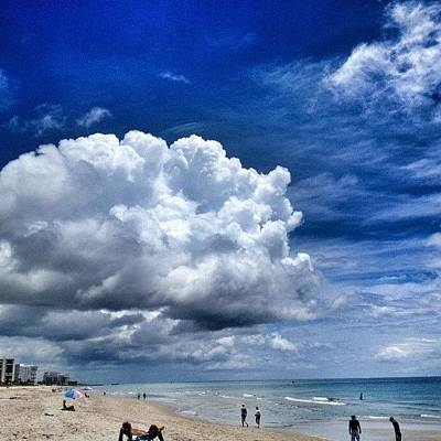 Iphone 4s Photograph - Aaamazing Today. #beach by Emily W