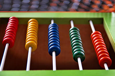 Abacus Photograph - Abacus by Tim Nichols